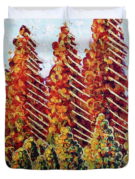 Autumn Christmas Duvet Cover
