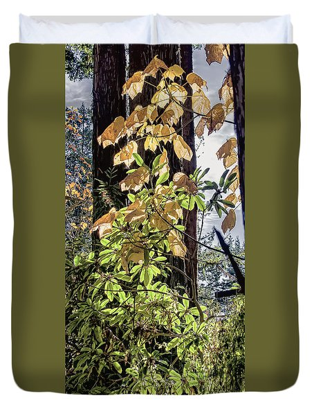 Autumn Color And  Duvet Cover