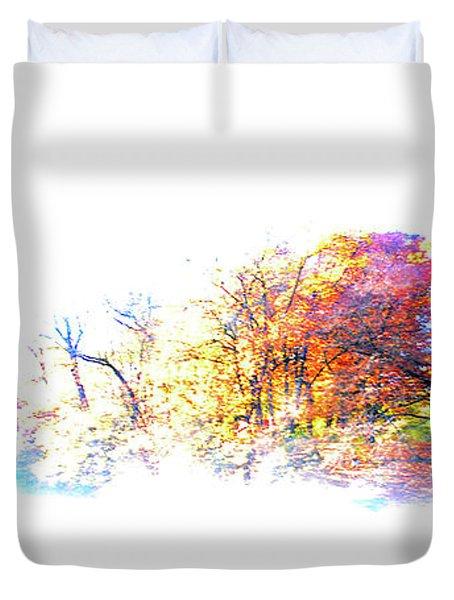 Autumn Colors Duvet Cover by Hannes Cmarits