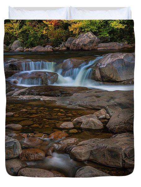 Autumn Colors In White Mountains New Hampshire Duvet Cover