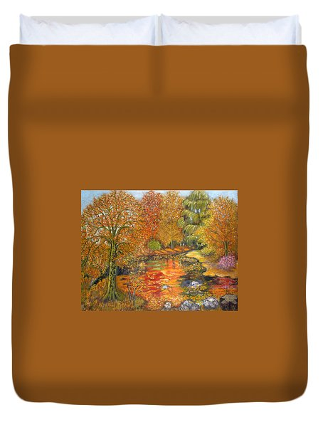 Autumn Colours Duvet Cover