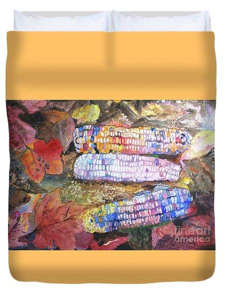 Autumn Corn Duvet Cover