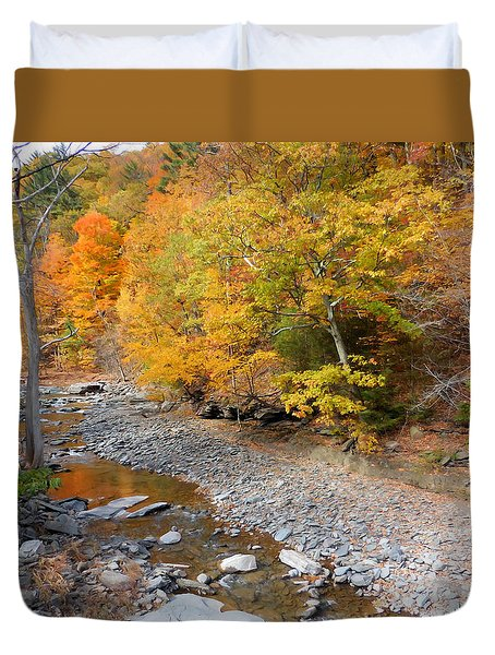 Autumn Creek  1 Duvet Cover