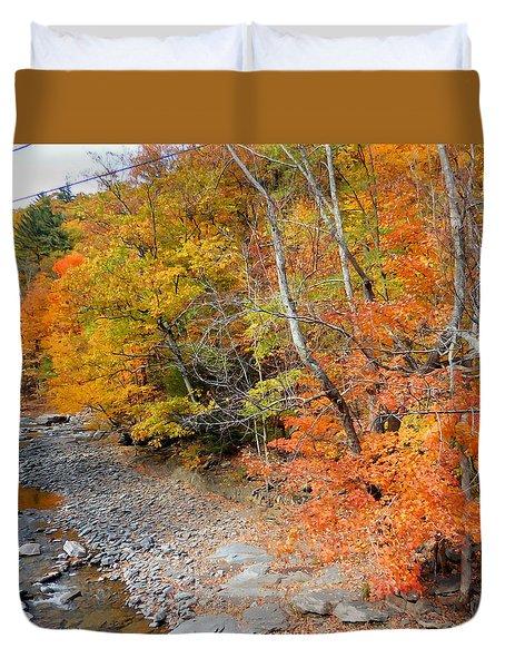 Autumn Creek 2 Duvet Cover
