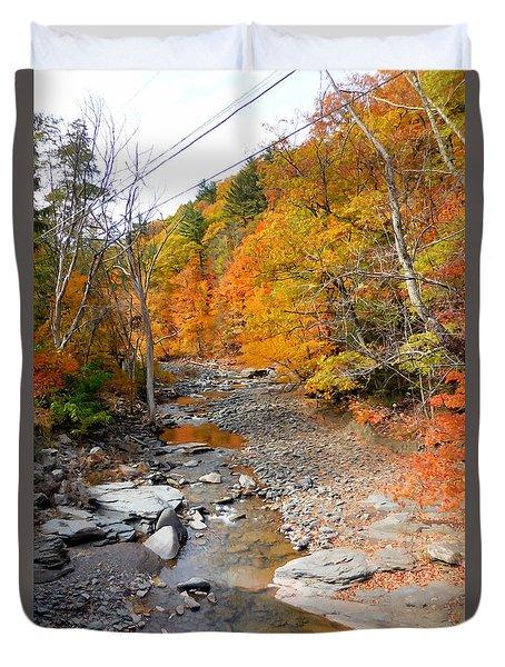 Autumn Creek 5 Duvet Cover