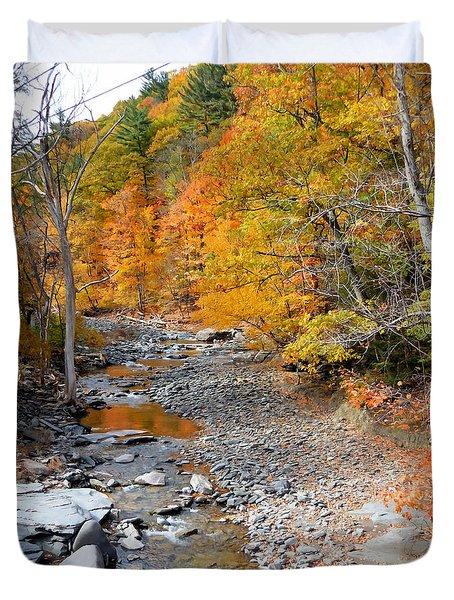 Autumn Creek 6 Duvet Cover