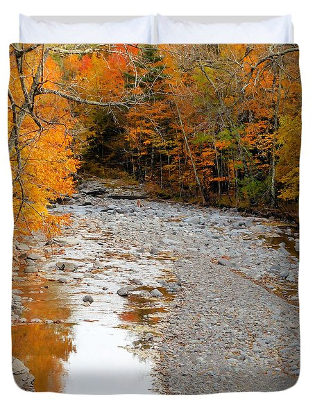 Autumn Creek 9 Duvet Cover
