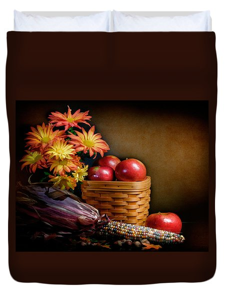 Autumn Duvet Cover by David and Carol Kelly