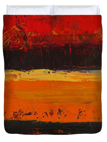 Autumn Day Duvet Cover by Patricia Awapara