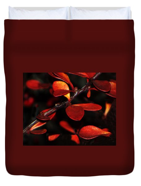 Autumn Details Duvet Cover