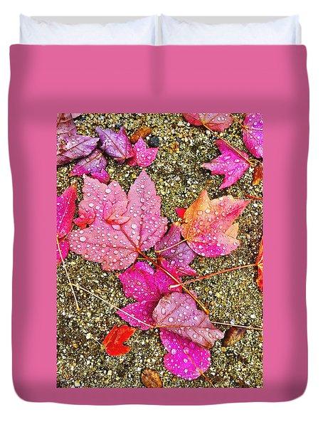 Autumn Dew Duvet Cover