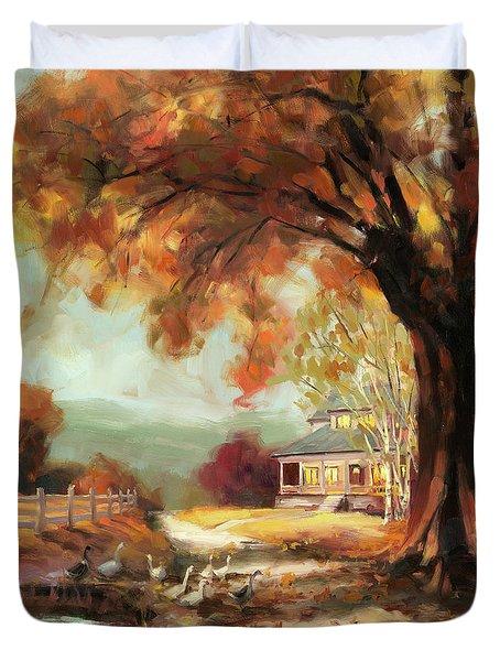Autumn Dreams Duvet Cover