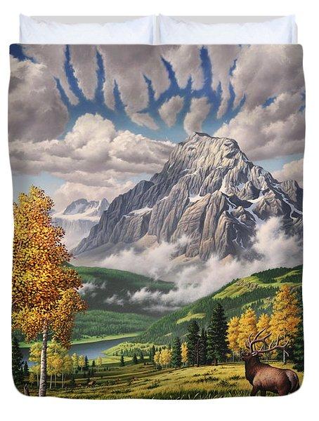 Autumn Echos Duvet Cover