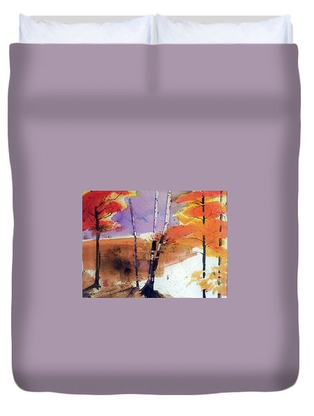 Autumn Duvet Cover by Ed Heaton