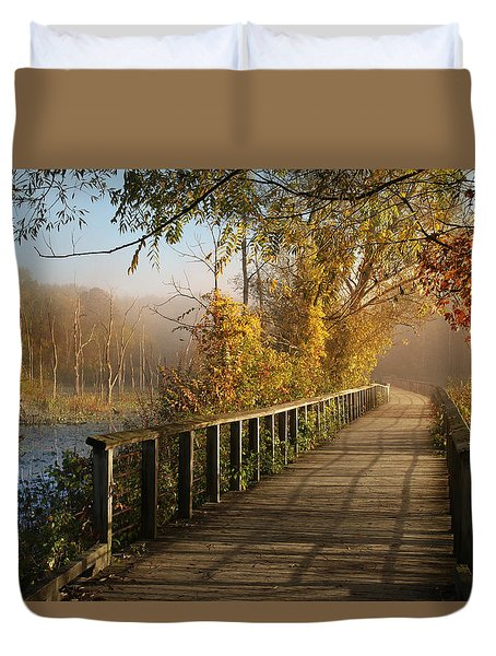 Autumn Emerging Duvet Cover