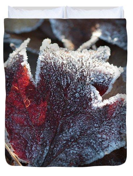 Autumn Ends, Winter Begins 2 Duvet Cover