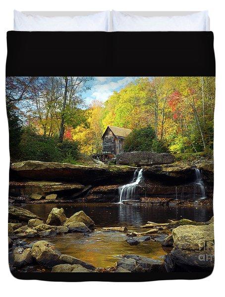 Autumn Fantasia Duvet Cover