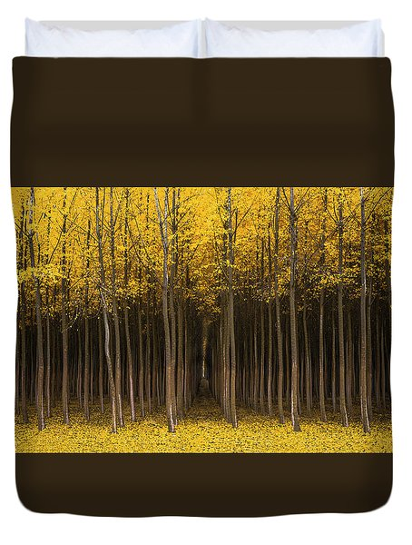 Autumn Fantasy Duvet Cover