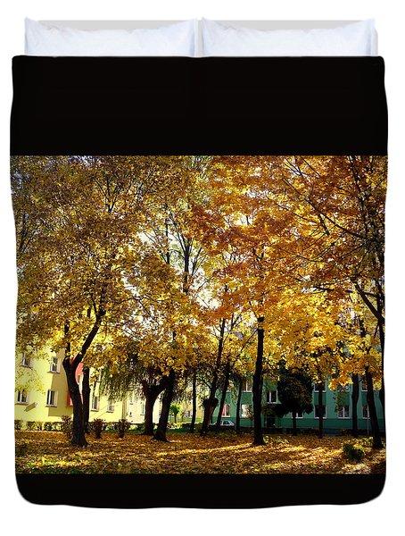 Autumn Festival Of Colors Duvet Cover