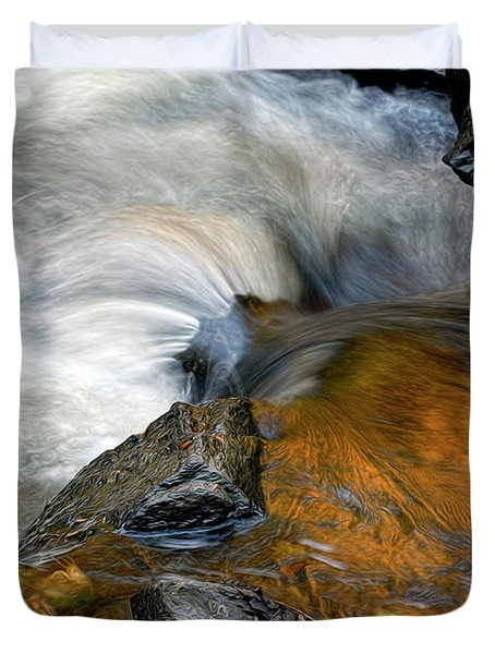 Autumn Flow Duvet Cover