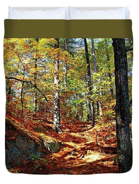 Autumn Forest Killarney Duvet Cover
