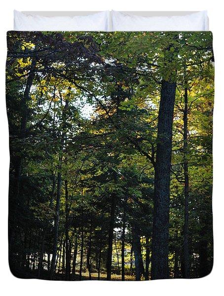 Autumn Glen Duvet Cover