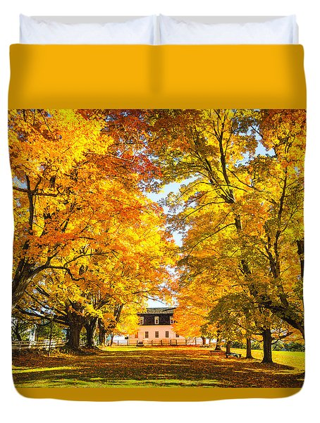 Autumn Gold IIi Duvet Cover