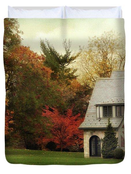 Autumn Grandeur Duvet Cover