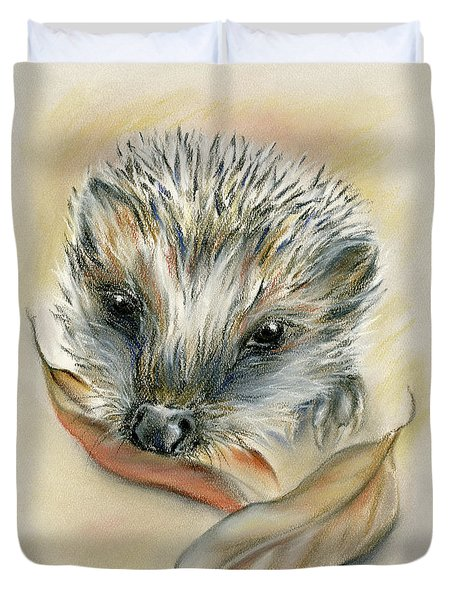 Autumn Hedgehog Duvet Cover