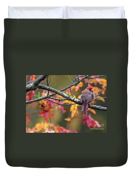 Autumn Hues Duvet Cover