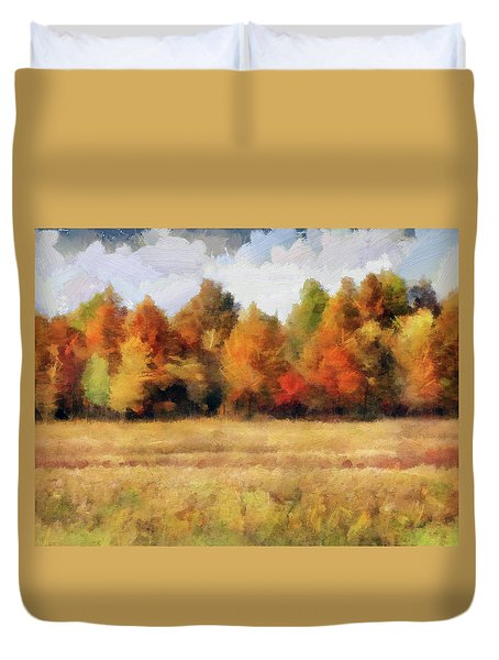 Autumn Impression 1 Duvet Cover