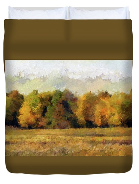 Autumn Impression 4 Duvet Cover