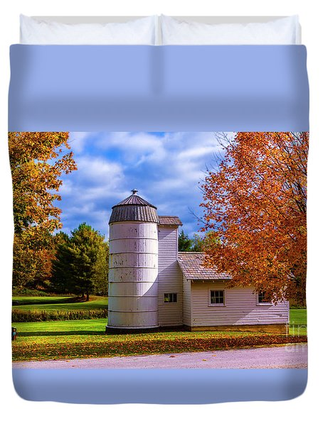 Autumn In Arlington Vermont Duvet Cover
