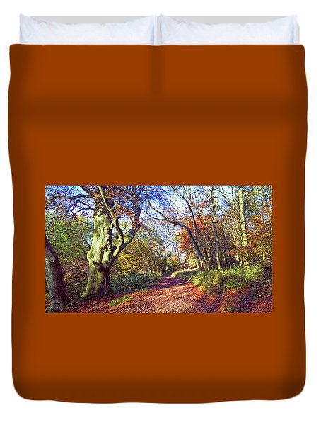 Autumn In Ashridge Duvet Cover
