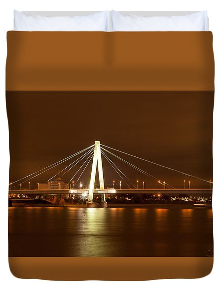 Autumn In Cologne Duvet Cover
