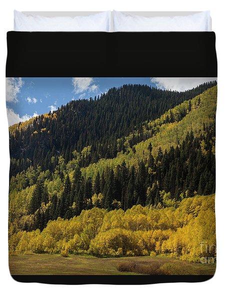 Autumn In Colorado Duvet Cover