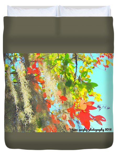 Autumn In Dixie  Duvet Cover