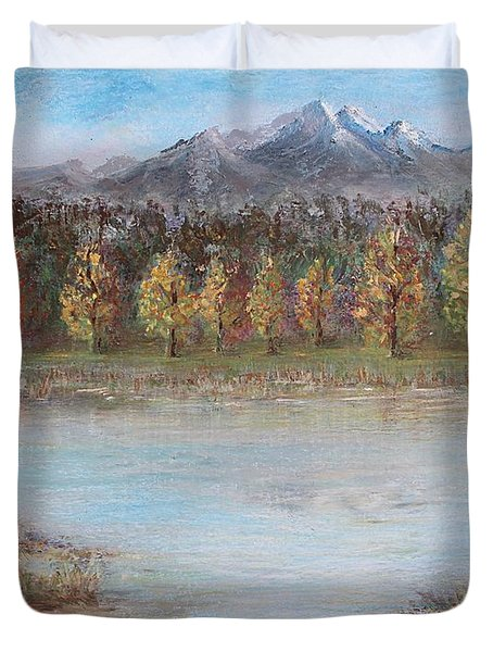 Autumn In Maule Duvet Cover