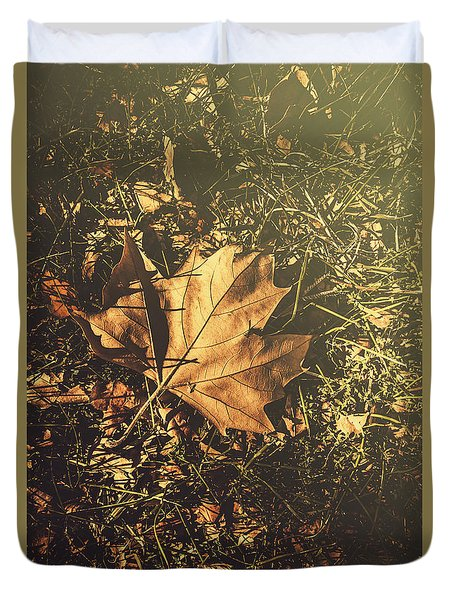 Duvet Cover featuring the photograph Autumn In Narrandera by Jorgo Photography - Wall Art Gallery