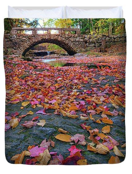 Autumn In New England Duvet Cover by Rick Berk