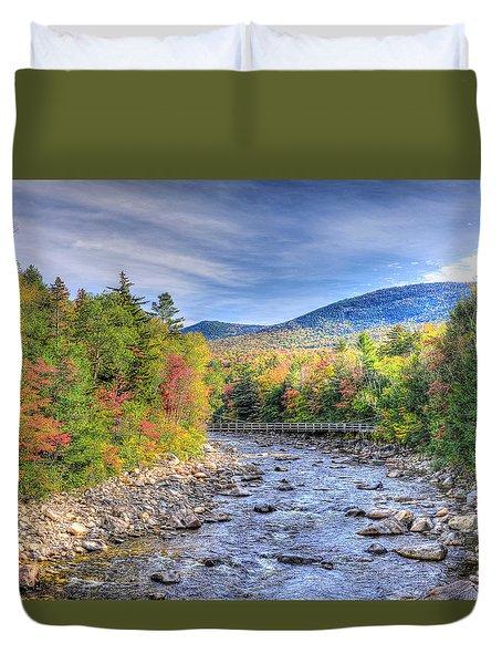 Autumn In New Hampshire Duvet Cover