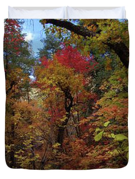 Autumn In Sedona Duvet Cover