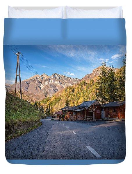 Autumn In Slovenia Duvet Cover