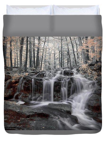 Autumn In Spring Infrared Duvet Cover