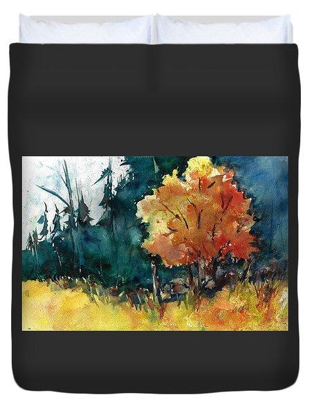 Autumn In The Ozarks Duvet Cover
