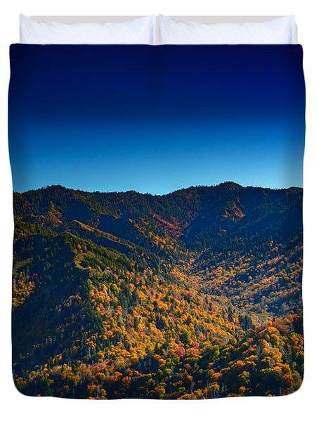 Autumn In The Smokies Duvet Cover