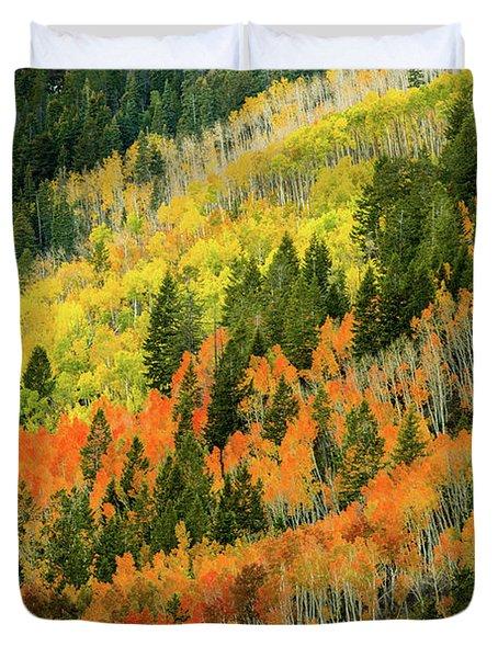 Autumn In The Uintas Duvet Cover