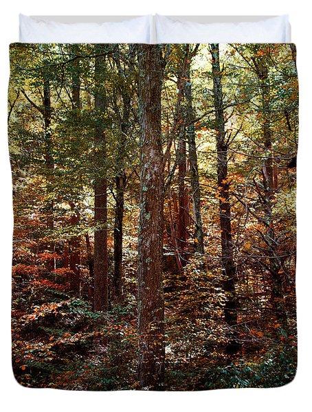 Autumn Is Stirring Duvet Cover