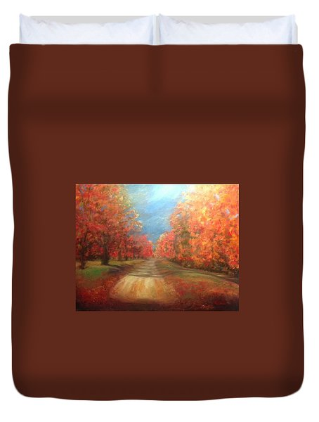 Autumn Dream Duvet Cover