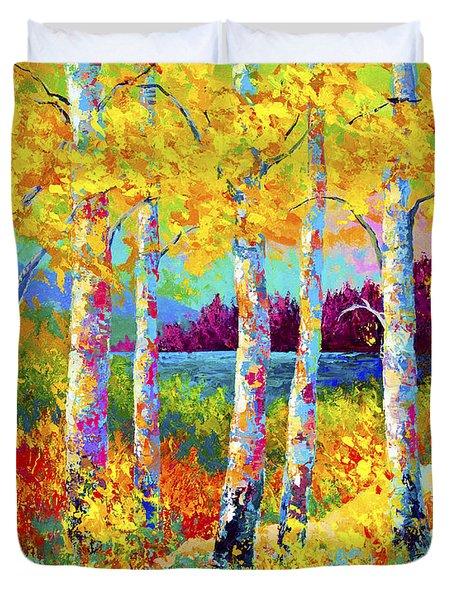 Autumn Jewels Duvet Cover